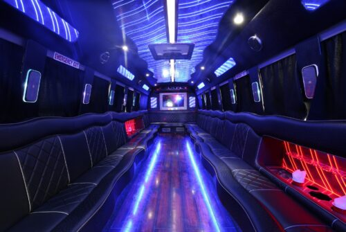 Why You Should Spend Your Night Out in a Party Bus